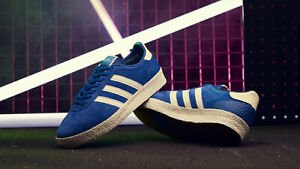 Details zu Adidas Mens Munchen Super SPZL BlueWhite Trainers Shoes B41812 UK 7.5 to 11.5
