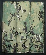 NEW AOR2 5A2 EAGLE TRIPLE MP7 FLAP MOLLE MAG POUCH 10/08 SEAL DEVGRU DGLCS