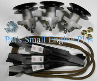 Mtd Cub Cadet Rzt 50 Rzt50 Std Blades/spindle/belt W/bolts Deck Rebuild Kit Dk13