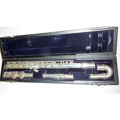 Trevor James 10X flute with curved head joint