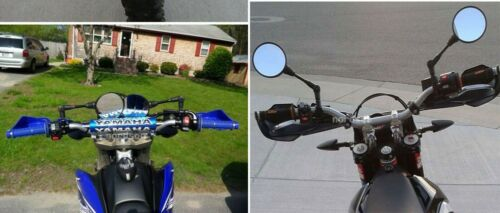 1pcs Motorcycle Folding mirror Motorbike Side Rear Mirrors Racing Street Bike