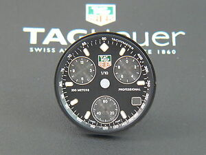Orig-TAG-Heuer-2000-Chronograph-Man-29-5-mm-dial-Black-dial-ring-CE1112-parts