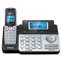 Vtech Two-line Expandable Cordless Phone With Answering System Ds6151 on sale