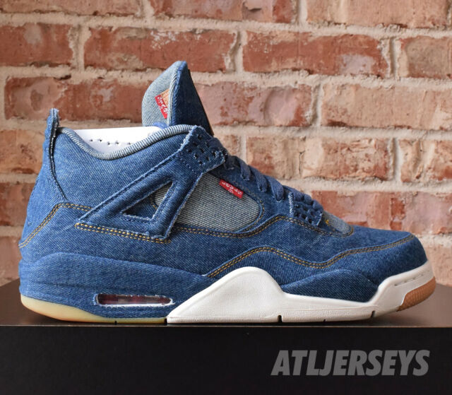 Nike Air Jordan 4 Retro Levis Blue