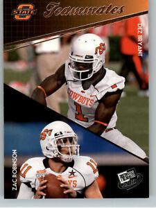 2010 Press Pass #93 Dez Bryant & Zac Robinson Teammates - OSU