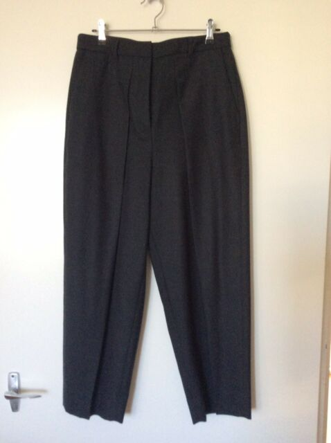 New Country Road Dark Grey charcoal Wool Pants Size 8