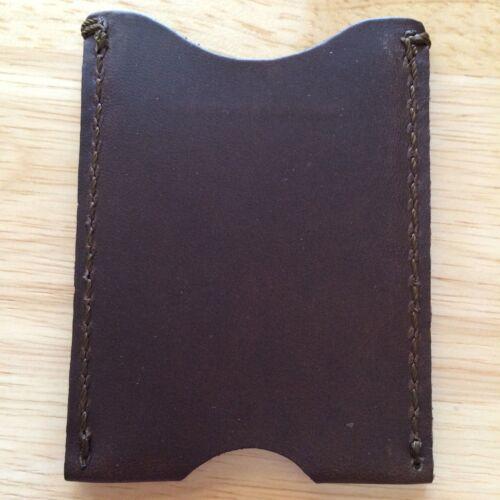 Multiple Color Options Saddleback Leather Sleeve Wallet Brand New Full Grain