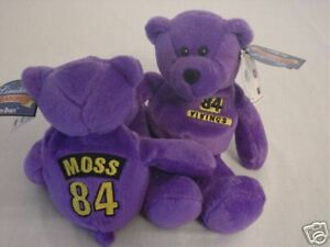 Image is loading Randy-Moss-Limited-Treasures-Pro-Bear-Minnesota-Vikings 68bf3954f9b