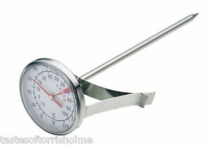 New-Kitchen-Craft-Stainless-Steel-Cappuccino-Milk-Frothing-Thermometer-Probe