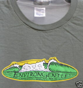 ENVIRONGENTLE-WAVE-T-SHIRT-ORGANIC-Cotton-MENS-amp-WOMENS