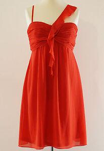 be4487e863cd Details zu Esprit Abendkleid Kleid Cocktailkleid elegant festlich rot Gr. L    40 NEU!!!