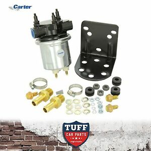 Details About Carter 4600 Silver Electric Fuel Pump P4600HP Holley Alternative 100GPH 6 8 PSI