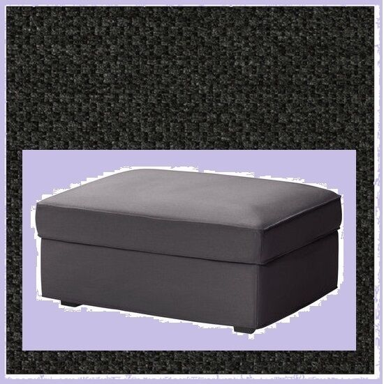 Groovy Ikea Kivik Ottoman Cover New Dansbo Dark Gray Discnted W Mates Piquefootstool Ocoug Best Dining Table And Chair Ideas Images Ocougorg