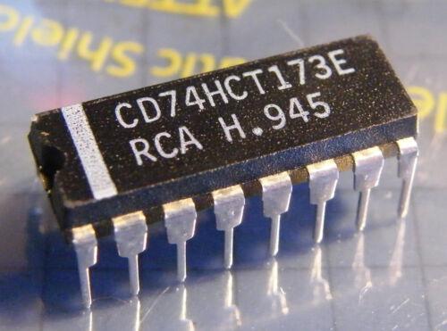 10x cd74hct173e quad D-Type Register RCA 3-state