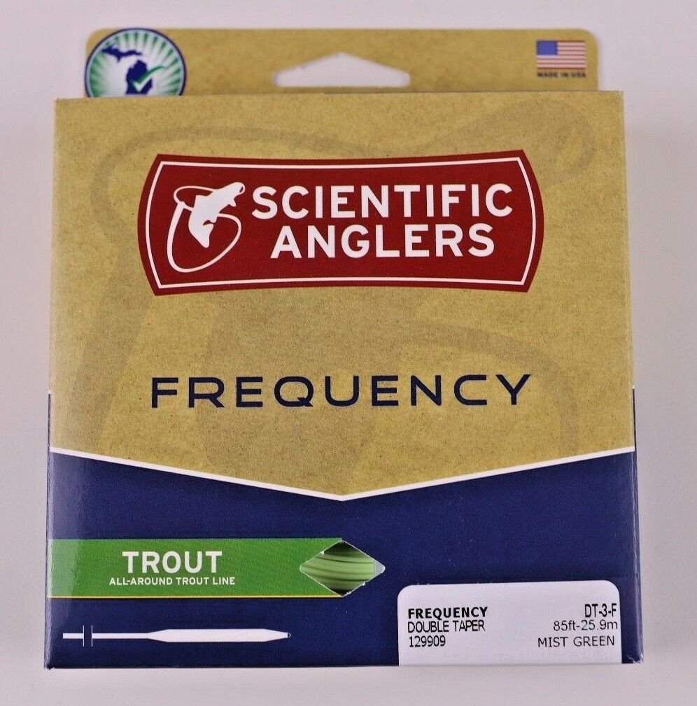 Scientific Anglers Frequency Trout Fly Line DT3F gratuito Fast Shipping 129909