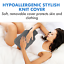 thumbnail 2 - Hot Water Bottle With Cover PVC Ice Bag Warm Relaxing Heat Cold Therapy - Green