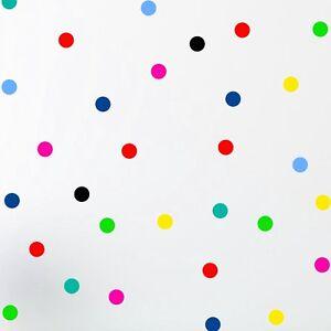 30 Polka Dot spot Bubble Wall Stickers Kid Decal Art Nursery Bedroom Vinyl Decor
