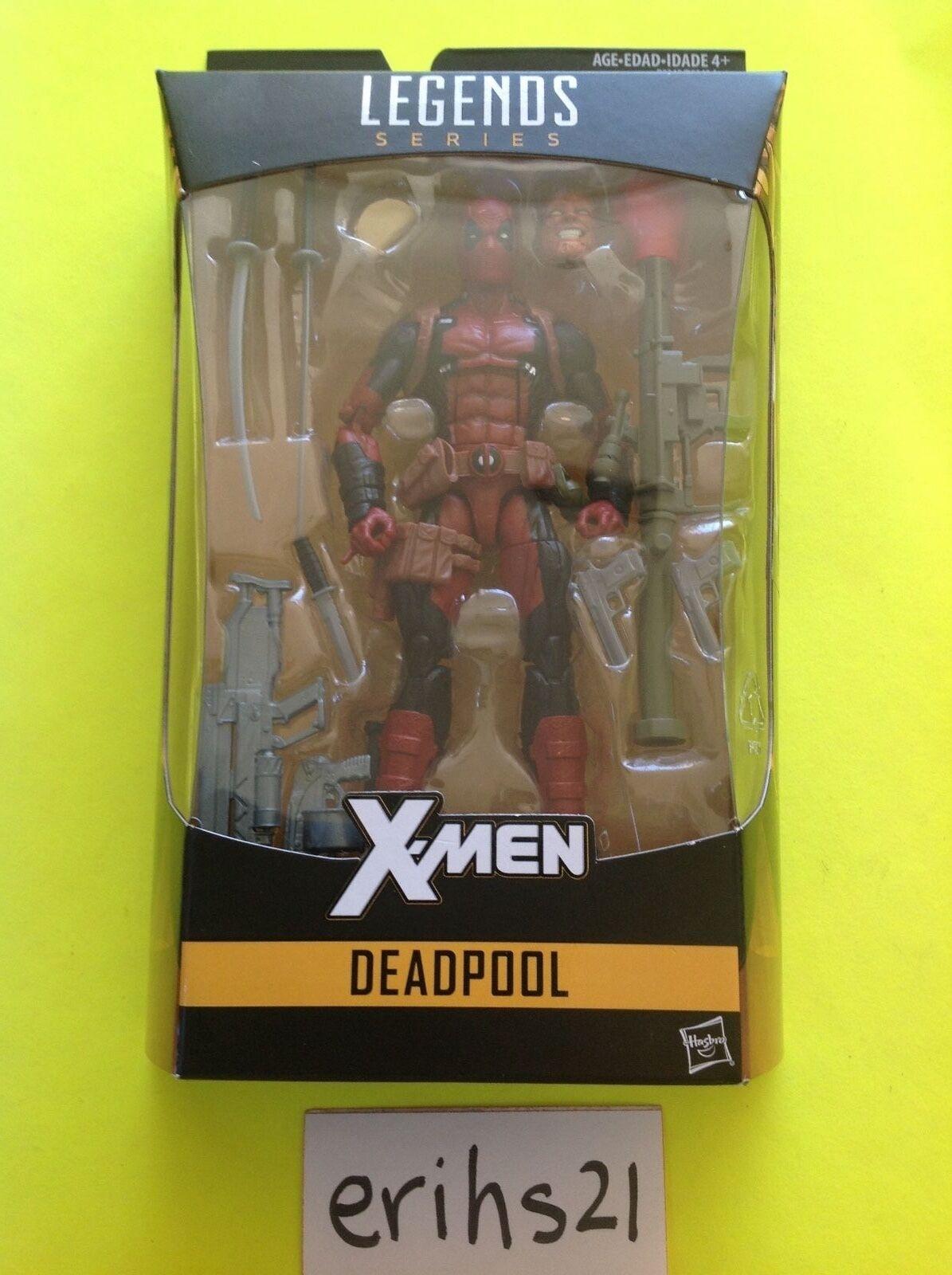 Marvel Legends DEADPOOL X-Men Series 6  Figure 2016 NIB On Hand  NEW Hasbro