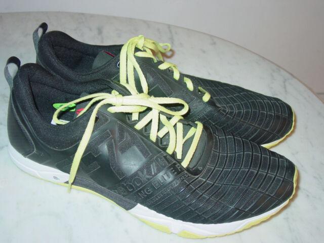 7a2f1da6226 Mens Reebok Crossfit Sprint TR Black M42687 Cross Training Shoes! Size 13