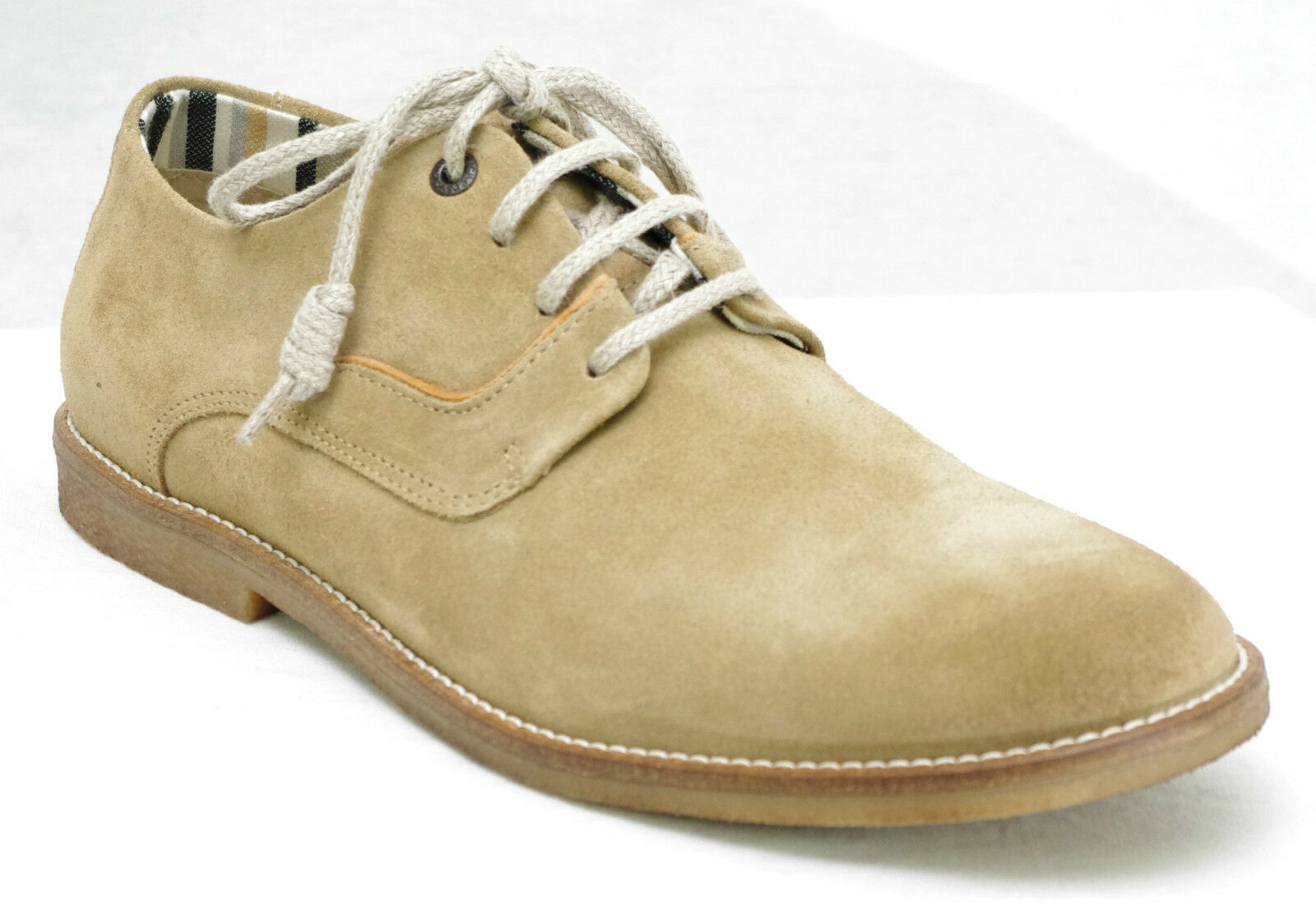Clair Derbies Chaussures Bachalcis Beige Nubuck Cuir Homme Kickers 0A0TwqxnF