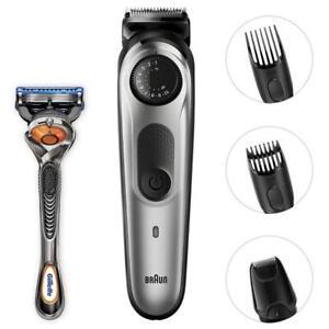 Braun-BeardTrimmer-BT5060-Men-039-s-Beard-Trimmer-amp-Hair-Clipper-w-Detail-Attachment