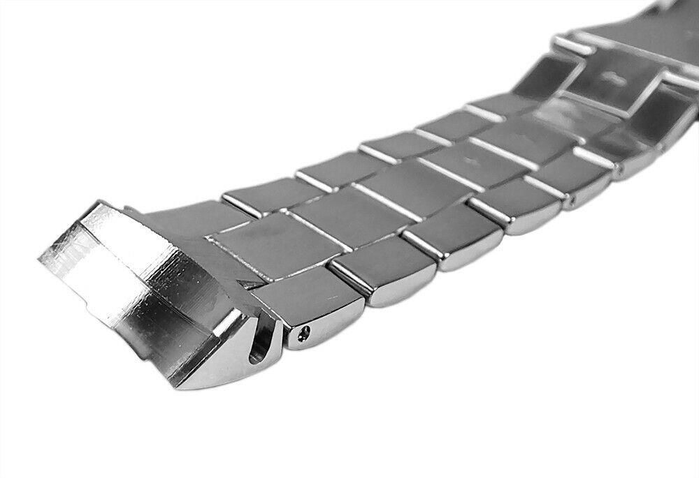 Silberfarben Band Uhrenarmband Edelstahl Für Casio Efm 502d Ersatzband MVjUpLSGqz