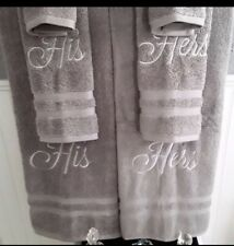 Lighthouse His /& Hers Personalized 3 Piece Bath Towel Set Color Choice