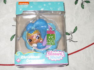Shimmer and Shine Kids Nickelodian Christmas Ornament New In Box Free Tracking!