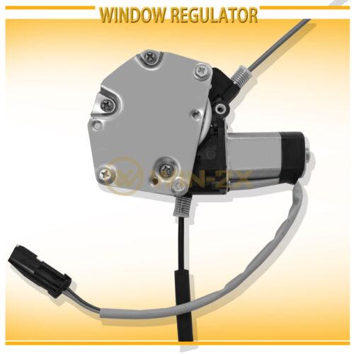 1pc Rear Left Power Window Regulator w// Motor Assy Fit Durango Dakota Crew Cab