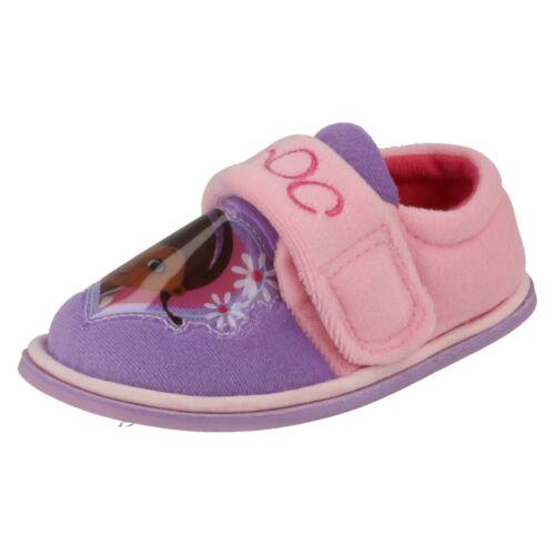 Filles Disney Indoor Chaussures McStuffins Doc Daisy Riptape Sangle Maison chaussons