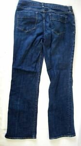 Old Navy The Sweetheart Classic Rise Boot Cut Stretch Blue Jeans Sz 6 P Short