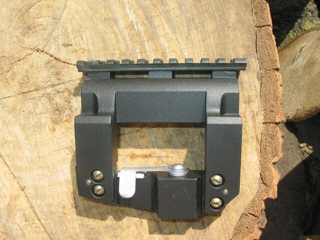 Adapter von Tigr, SKS, SVD, PSL Montage zu Weaver SIDE MOUNT HIGH