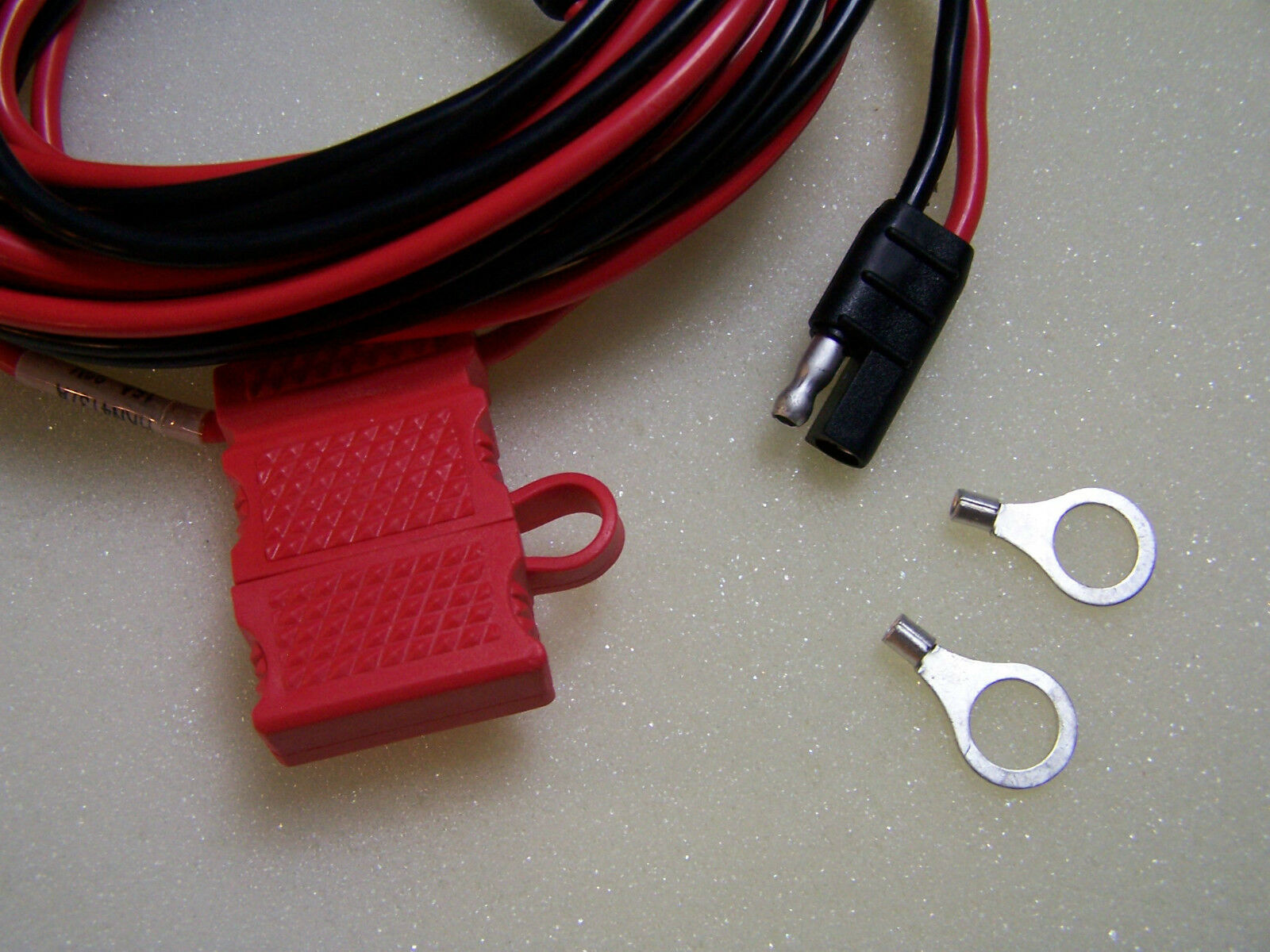 Qty 10 POWER CABLE FOR MOTOROLA HKN4137 CDM750 CDM1250 CDM1550 GM300 M1225 . Available Now for 88.00