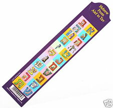 Hebrew Alphabet Bookmark Israel Aleph Beth Jewish ABC Language