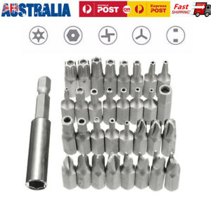 33pc-Security-Bit-Set-Drill-Star-Hex-Spanner-Torx-Magnetic-Screwdriver-Brand-New