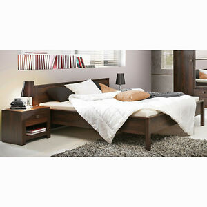 bett indigo doppelbett in eiche durance kolonialstil 180x200 cm ebay. Black Bedroom Furniture Sets. Home Design Ideas