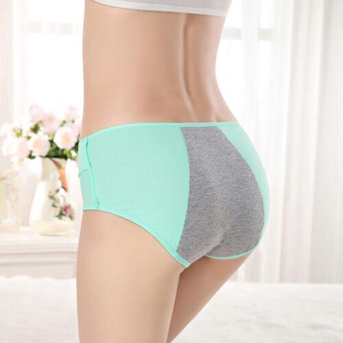 Waist Bamboo Menstrual Leakproof Period Underwear High Panties Women Fiber