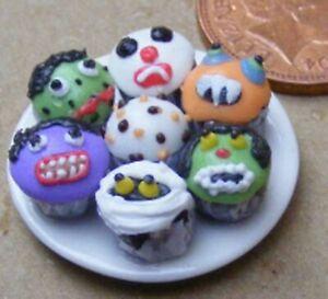 1:12 Scale Blackberry Jelly On A Ceramic Plate Tumdee Dolls House Dessert Bj6