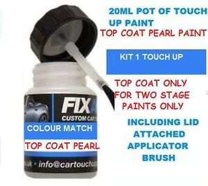 Two Stage Pearl Effect Top Coat Touch Up Paint To Add To Existing