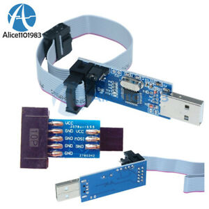 10-Pin-Convert-to-Standard-6-Pin-Adapter-Board-USBASP-USBISP-AVR-Programmer-USB