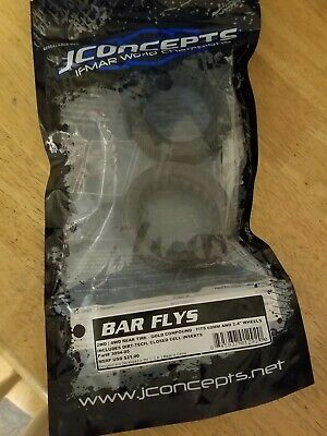 JConcepts Bar Flys Gold 60mm 1//10 4WD Buggy Front Tire 3096-05