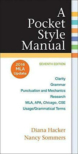A pocket style manual 2016 mla update edition by diana hacker and resntentobalflowflowcomponenttechnicalissues fandeluxe Images