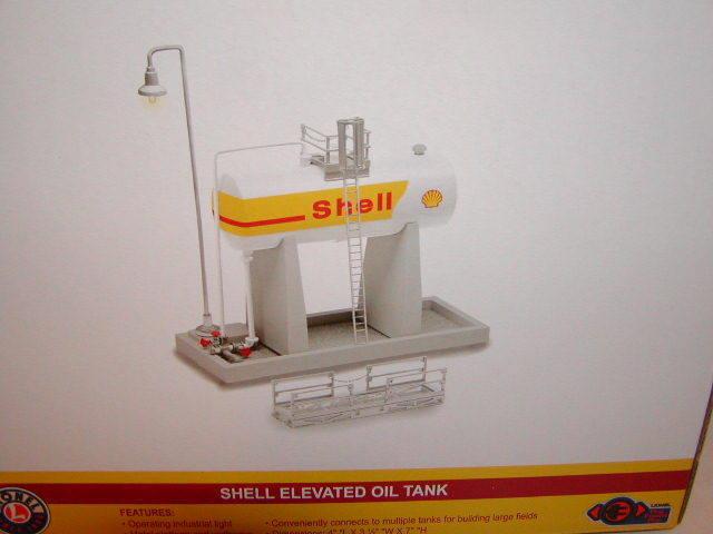 Lionel 6-83244 Shell Elevated Oil Tank Train Accessory O 027 New 2017 MIB P-E-P
