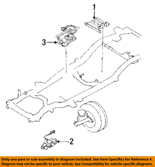 97 Isuzu Rodeo 32 L At Engine Puter Module Ecu Ecm Pcm Rhebay: 1997 Isuzu Rodeo Engine Diagram At Gmaili.net