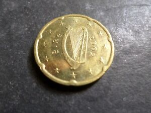 IRLANDE pièce de 20 centimes d euro 2002, TB