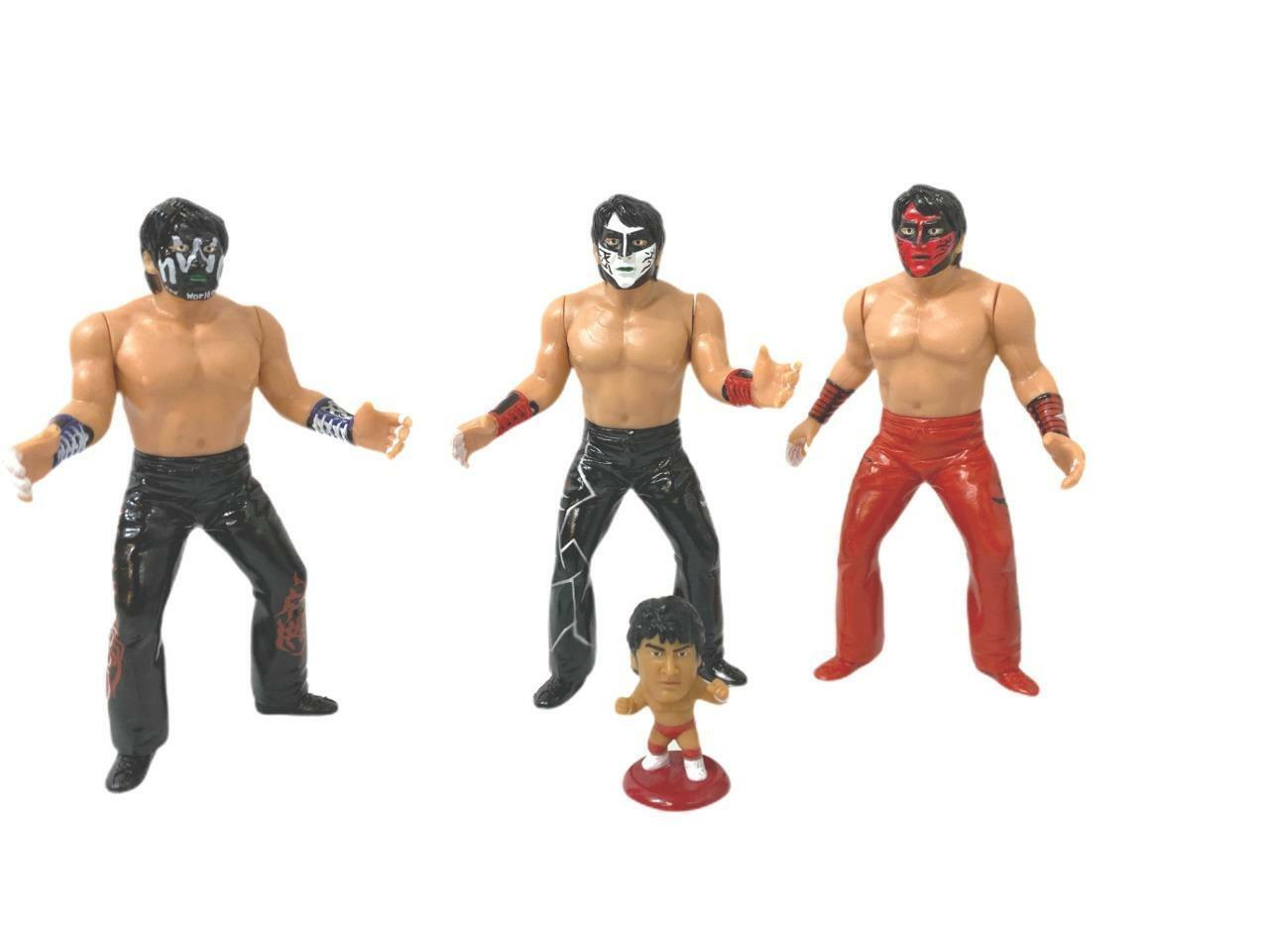 Gran para escenario Mutoh NJPW AJPW Wcw Muto Figura Muñeca