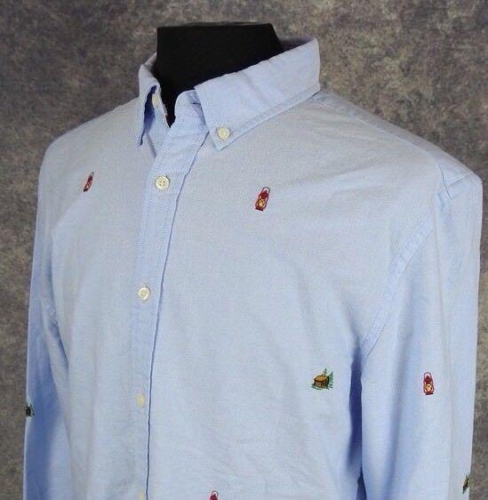 c3d41be2 New NWT TOMMY HILFIGER LS Mens Dress Shirt Oxford Custom Slim Fit Button  Down Overhemden