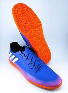 2884e3dd673 Adidas Messi 16.3 Indoor Soccer Shoes Mens Size 11.5 12 13 BA9018 ...