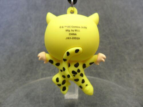 Wonder Woman NEW Opened Blind Bag Key Chain Keychain Cheetah Fur Suit Clip