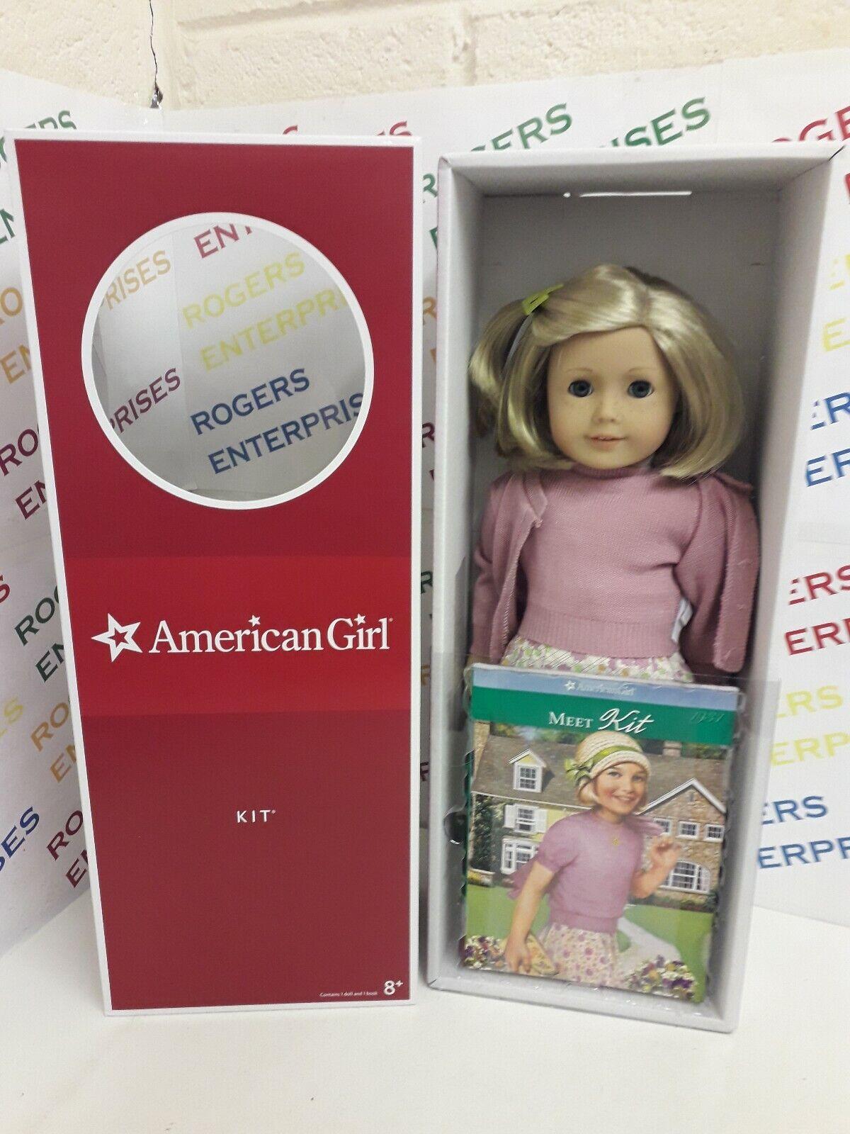 Original Muñeca American Girl 18  - Kit kitterojoge-Nuevo Y En Caja Con Libro